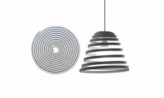 spiralovite lampy karton bamdesign
