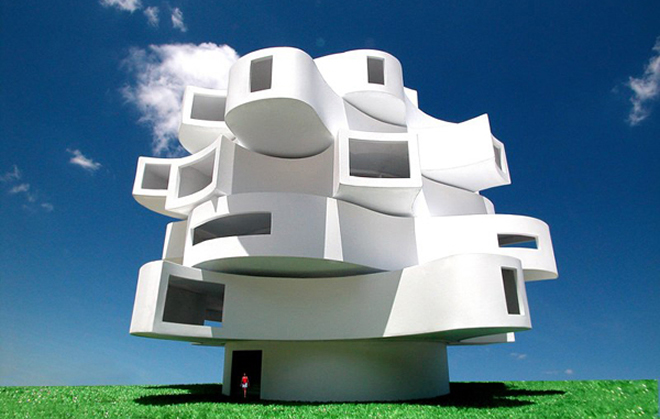 pavilon tvarovany vetrom bamdesign rozfukana budova