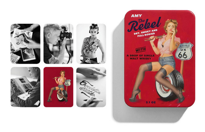 vyzyvave cokoladky pin-up girls bamdesign