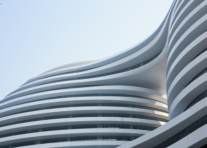 galaxy soho zaha hadid architects bamdesign