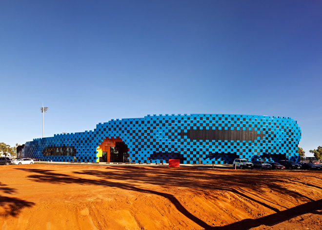 wanangkura stadion arm architecture bamdesign