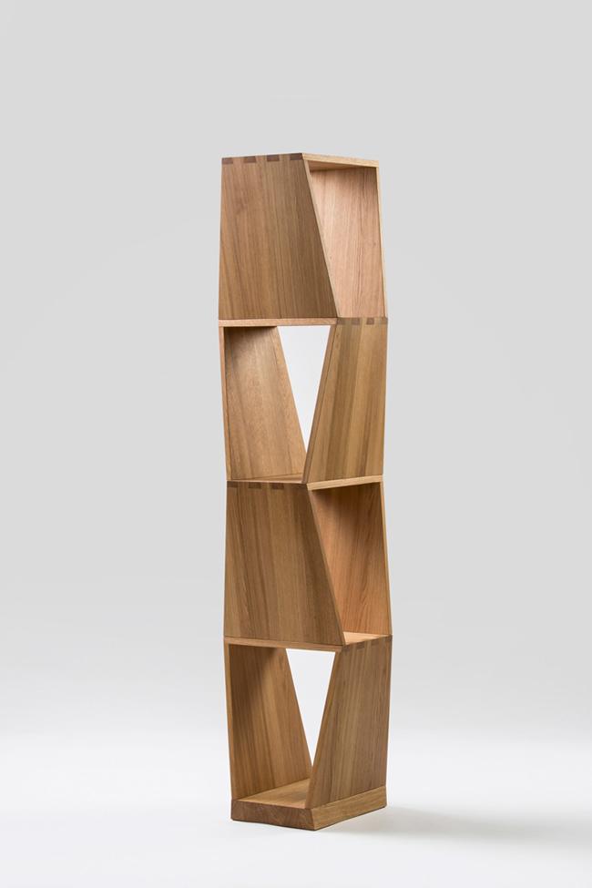 knižnica kubist jan padrnos bamdesign
